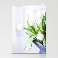 In The Window - Tulip Still Life Stationery Cards