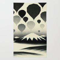 Morning wind balloons Rug