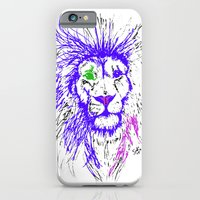 iPhone & iPod Case featuring Lion by Suzanne Kurilla