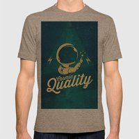 Cosmic Quality Mens Fitted Tee Tri-Coffee SMALL
