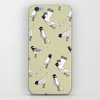 Bird Print - Natural iPhone & iPod Skin