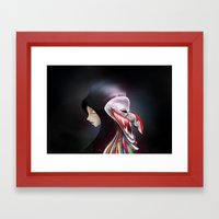 Women_ผีตาโข… Framed Art Print