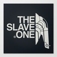 The Slave One Canvas Print