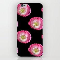 Pink Poppy iPhone & iPod Skin