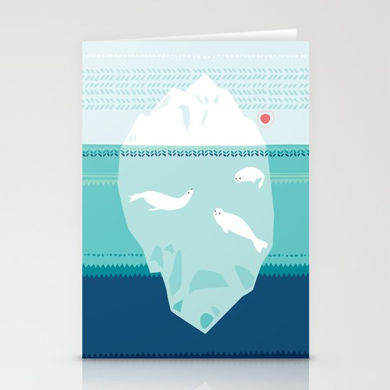 The Ice Lovers Stationery Card