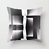 Unstable Stability Throw Pillow