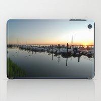 Sunset Pier iPad Case