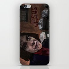 Busker Jesus iPhone & iPod Skin