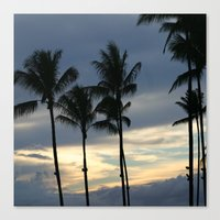 Maui: Sunset Canvas Print