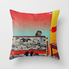 28 Feet Under Throw Pillow