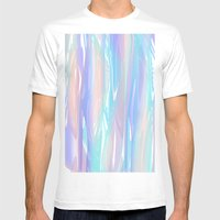 Tropical Blue Mens Fitted Tee White SMALL