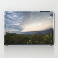 Storm clouds over Australian landscape iPad Case
