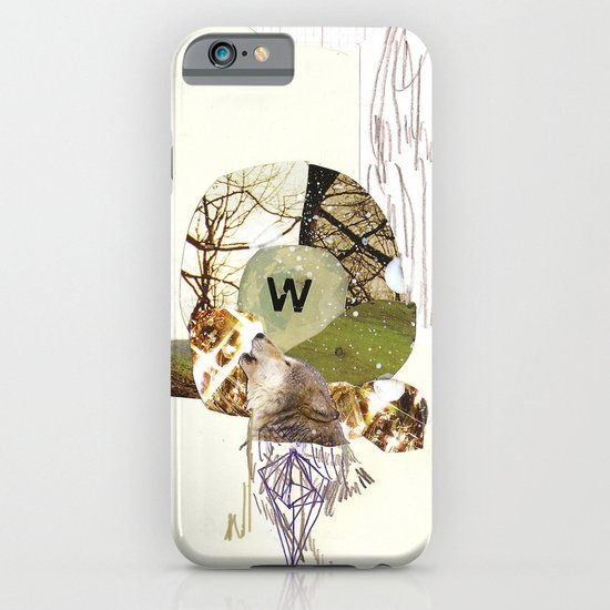 W is for Wolf iPhone & iPod Case
