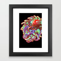 Rolling In The Deep Framed Art Print