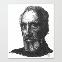 Christopher Lee Canvas Print