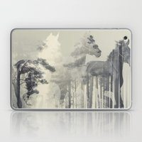 Like a Horse in the woods Laptop & iPad Skin