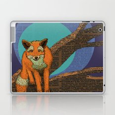 Fox at night Laptop & iPad Skin