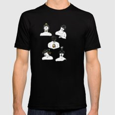 SPIRITUAL CLEANING Black SMALL Mens Fitted Tee