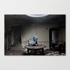 Party's Over Canvas Print