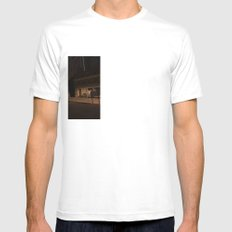Baltimore Mens Fitted Tee SMALL White
