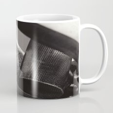 Droplets on Metal Mug
