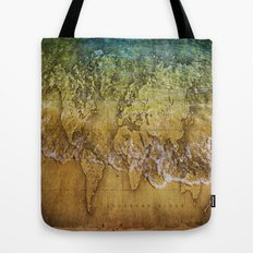 Maps Tote Bag