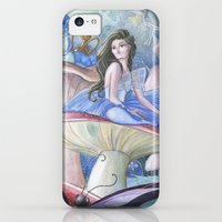 iPhone 5c Cases featuring Alice and the Caterpillar by Thien_Venus_Milo