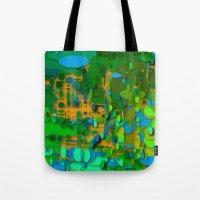 round green garden Tote Bag