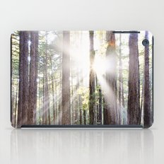Sunburst Through the Redwoods iPad Case
