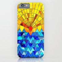 Sun & Sea Collage iPhone 6 Slim Case