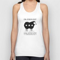 Unaffiliated Party Flyer Unisex Tank Top