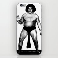 Andre's Giants iPhone & iPod Skin