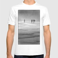 Surfing South Africa Mens Fitted Tee White SMALL