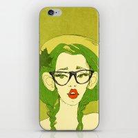 Selfie Girl_7 iPhone & iPod Skin