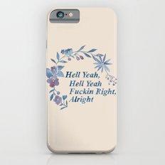 Floral Rap #1 Slim Case iPhone 6s