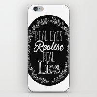 Real Lies iPhone & iPod Skin