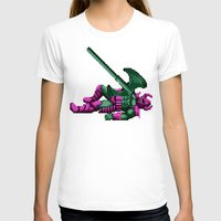 Deathbringer Womens Fitted Tee White SMALL