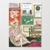 Daisy: The Smiths Fan Canvas Print