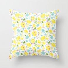 Summer Sippin' Throw Pillow