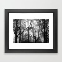 The Clearest Way into The Universe is Through a Forest Wilderness Framed Art Print
