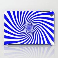 Swirl (Blue/White) iPad Case