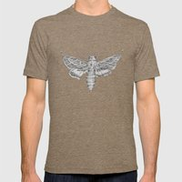 Moth Mens Fitted Tee Tri-Coffee SMALL