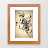 Pleasant Rhythm Framed Art Print