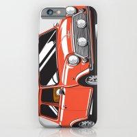 iPhone & iPod Case featuring Mini Cooper Car - Red by C Barrett