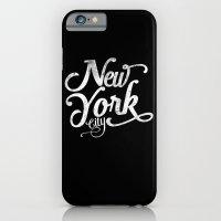 New York City vintage typography iPhone 6 Slim Case