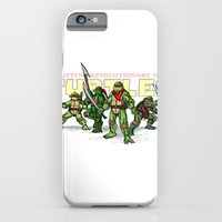 iPhone & iPod Case featuring Philippine Revolutionary Ninja Turtles by Cesar Cueva