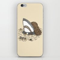The Mullet Shark iPhone & iPod Skin