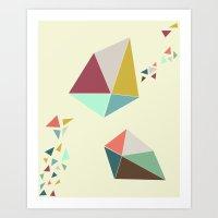 Geome(tri)c Art Print