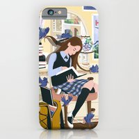 iPhone & iPod Case featuring Dressed by Birds by shecanliftahorse