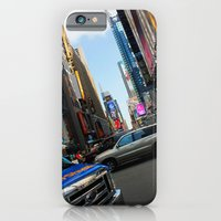 iPhone & iPod Case featuring New York City Time Square NYC by Eric James Photography